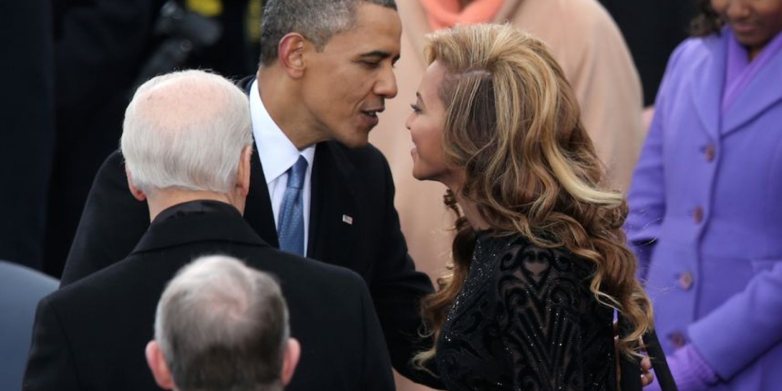 Con Beyoncé Foto:Getty Images