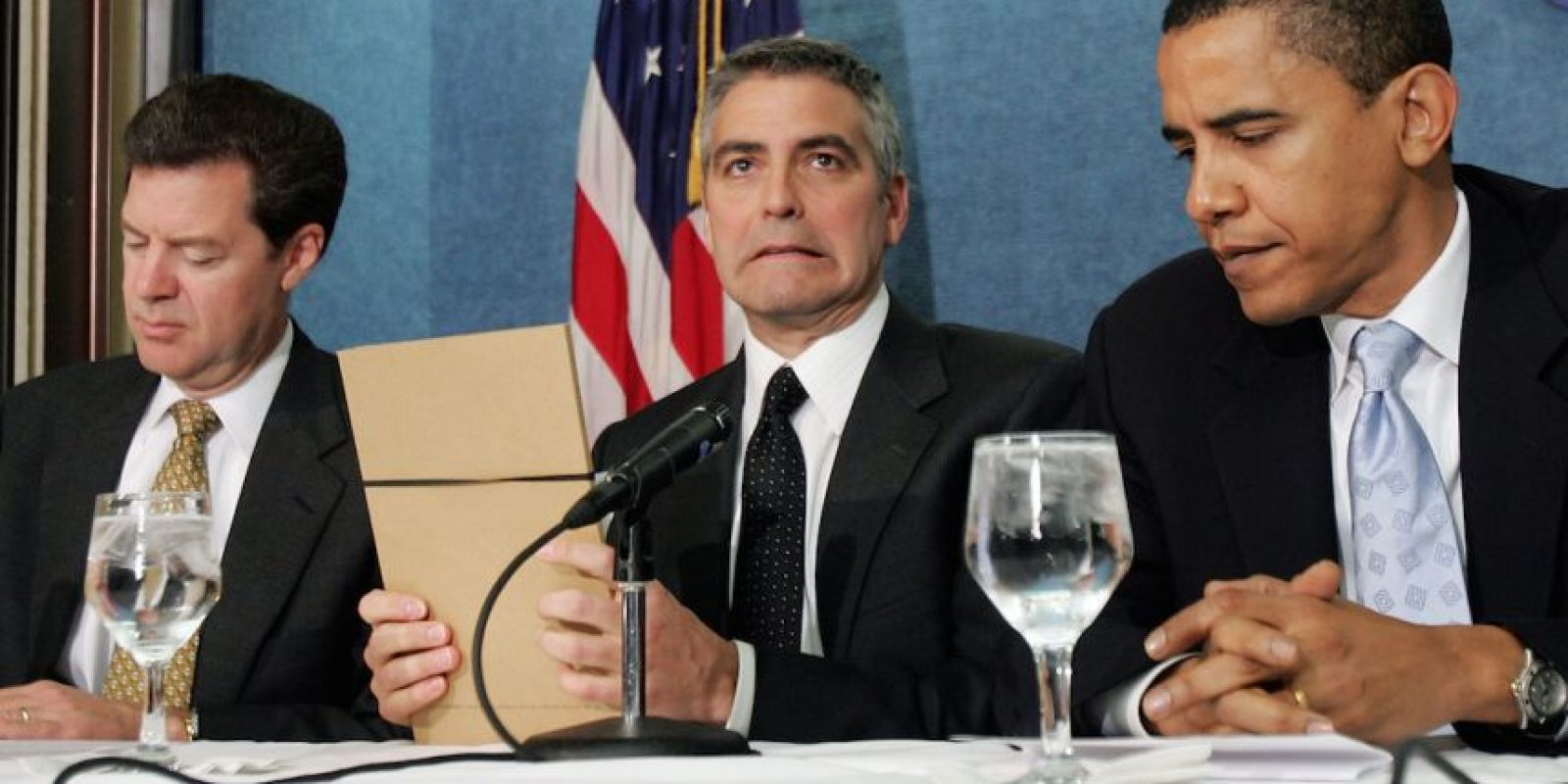 Con George Clooney Foto: Getty Images