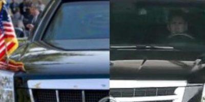 El argentino llegó a las instalaciones del Barcelona en un Cadillac Escalade Foto:Getty
