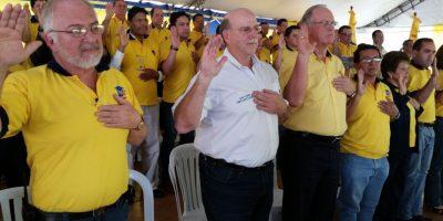 Juan Gutiérrez es juramentado como Secretario general del PAN Foto:Kenneth Monzón