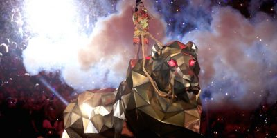 FOTOS: Así fue el espectacular show de Katy Perry en el Super Bowl