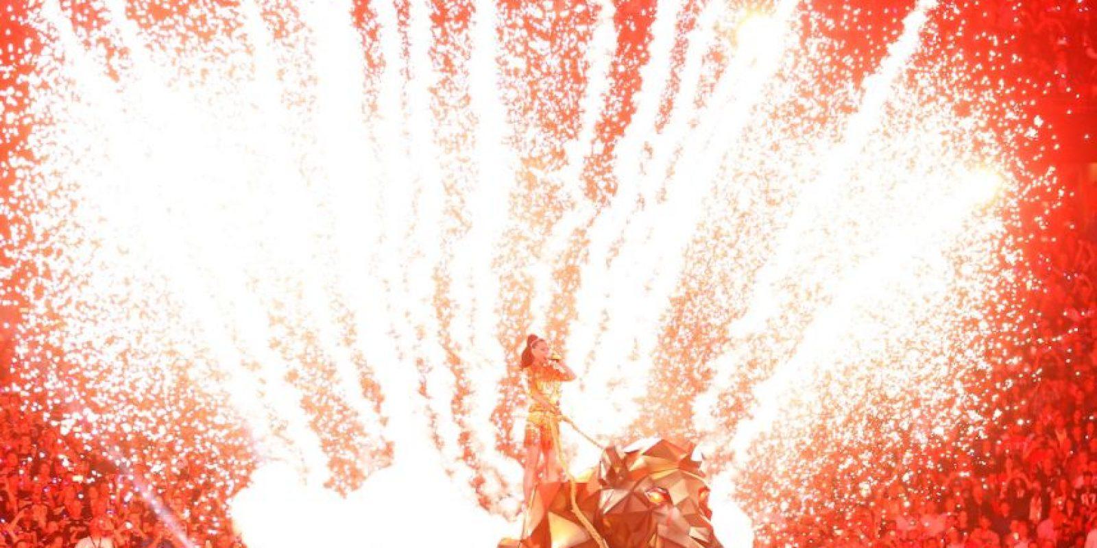 Y hubo muchos fuegos artificiales Foto:Getty Images