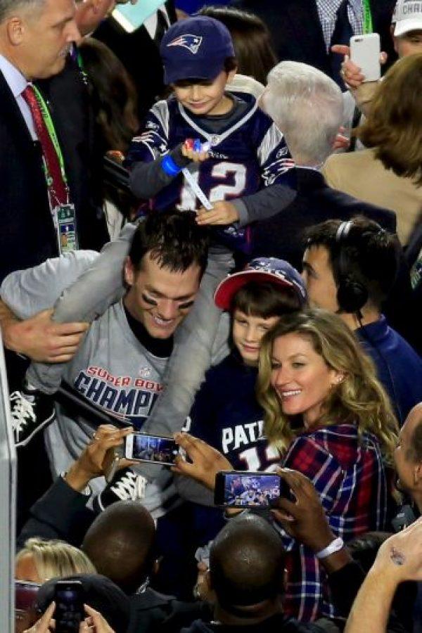 La foto feliz de la familia Brady – Bündchen. Foto:Getty Images