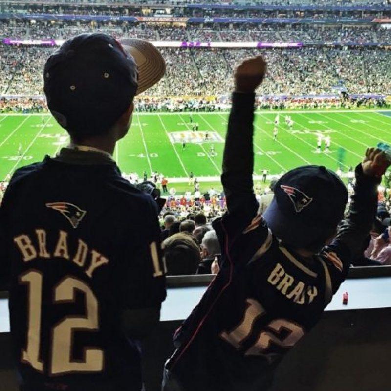 Los hijos de la familia también se emocionaron. Foto:instagram.com/giseleofficial