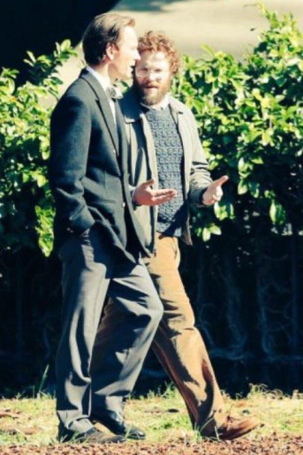 Fassbender y Rogen Foto:9to5mac