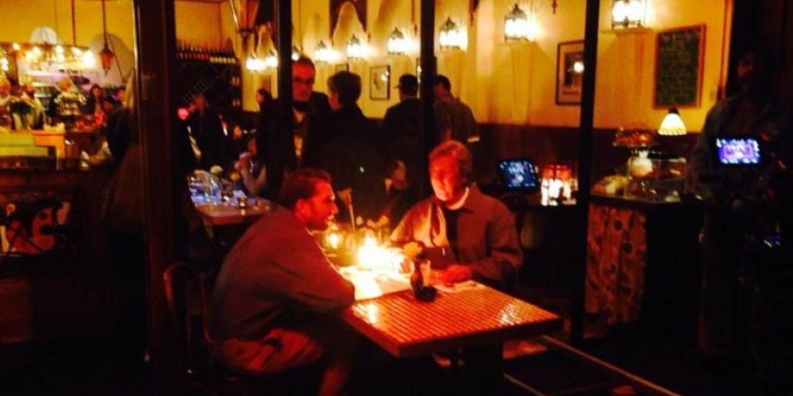 Parte del elenco en escena Foto:twitter.com/mattoyeah