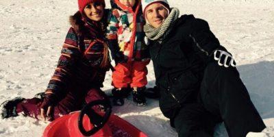 VIDEO: Así se divierten Lionel Messi y su familia en la nieve