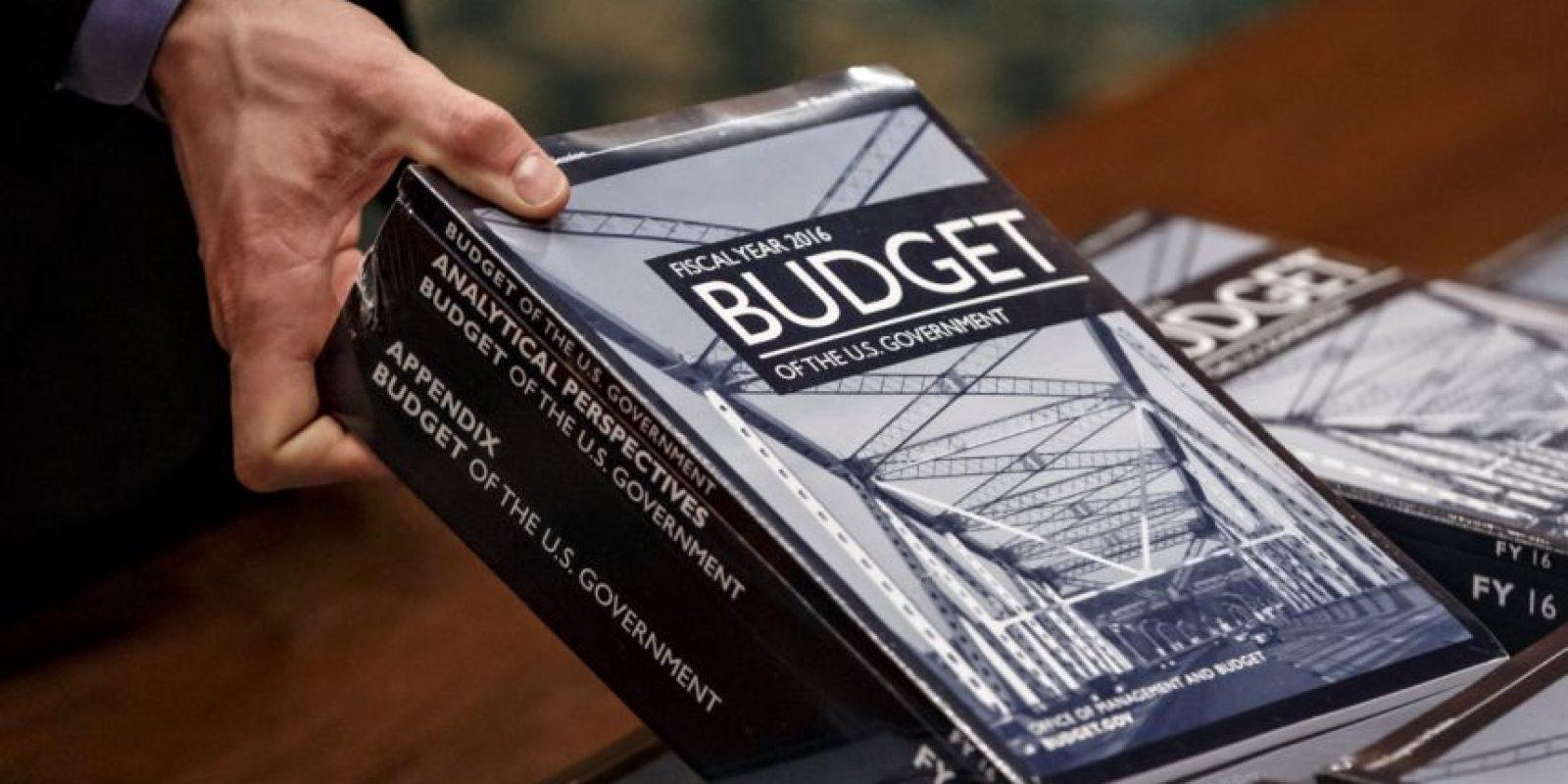 El presupuesto fue distribuido en las Cámaras. Foto:AP
