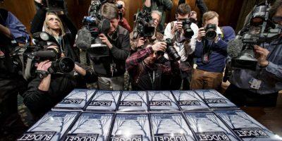 Los medios estuvieron presentes en el evento. Foto:AP