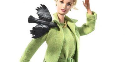 """Barbie de """"Los Pájaros""""( Tippi Hedren) Foto:Mattel"""