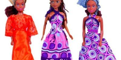 """Por eso creó a las muñecas """"Queens of África"""", que arrasan en ventas en su país. Foto:Queens Of Africa-Black Nigerian/African Dolls"""