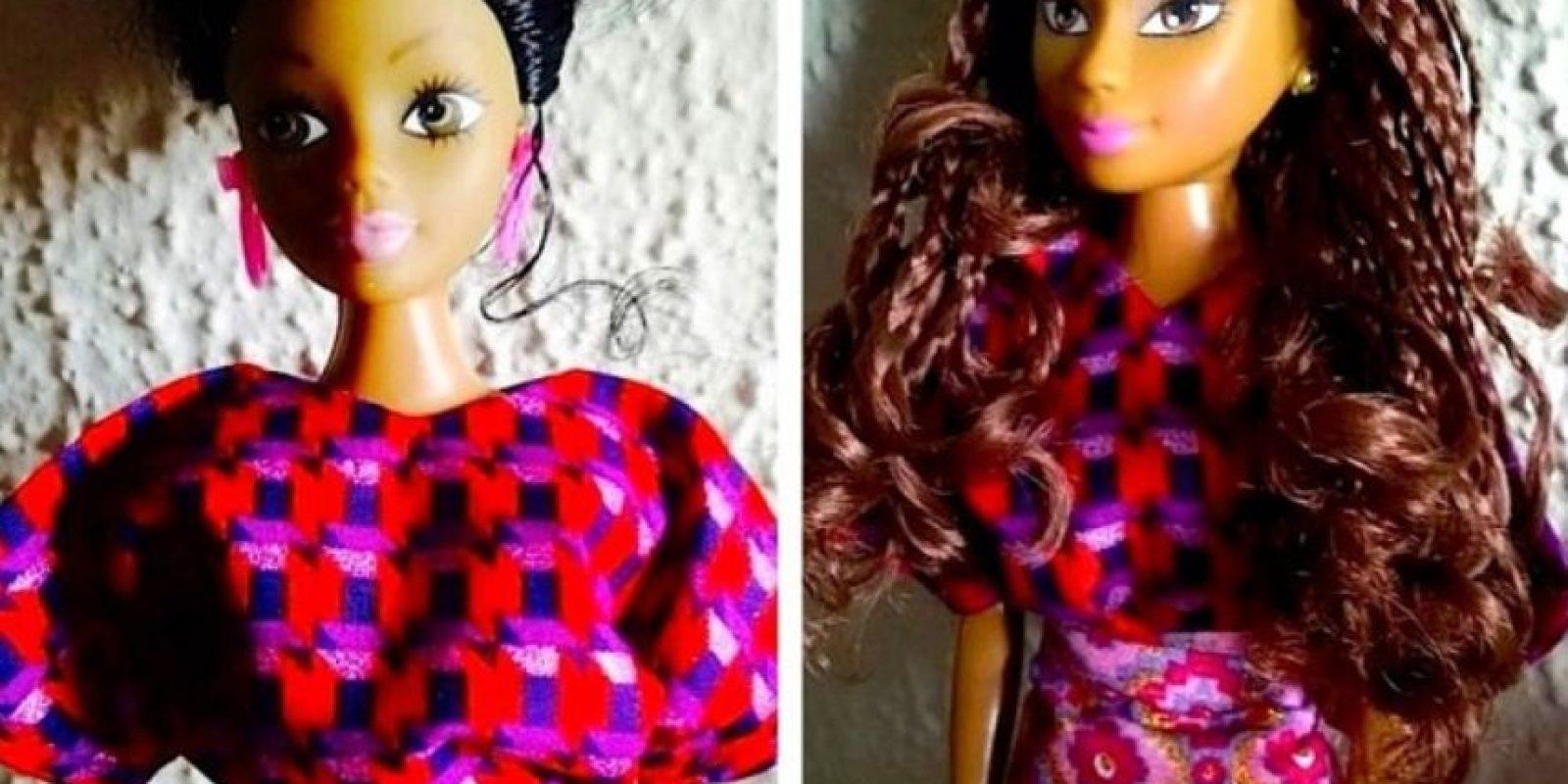 El nigeriano Taofick Otoya no encontraba una muñeca negra que se ajustase a lo que quería darle a su sobrina. Foto:Queens Of Africa-Black Nigerian/African Dolls