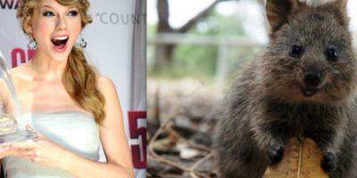 Qué linda es Taylor Foto:Facebook.