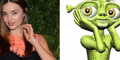 Miranda Kerr, un alien. Foto:Facebook
