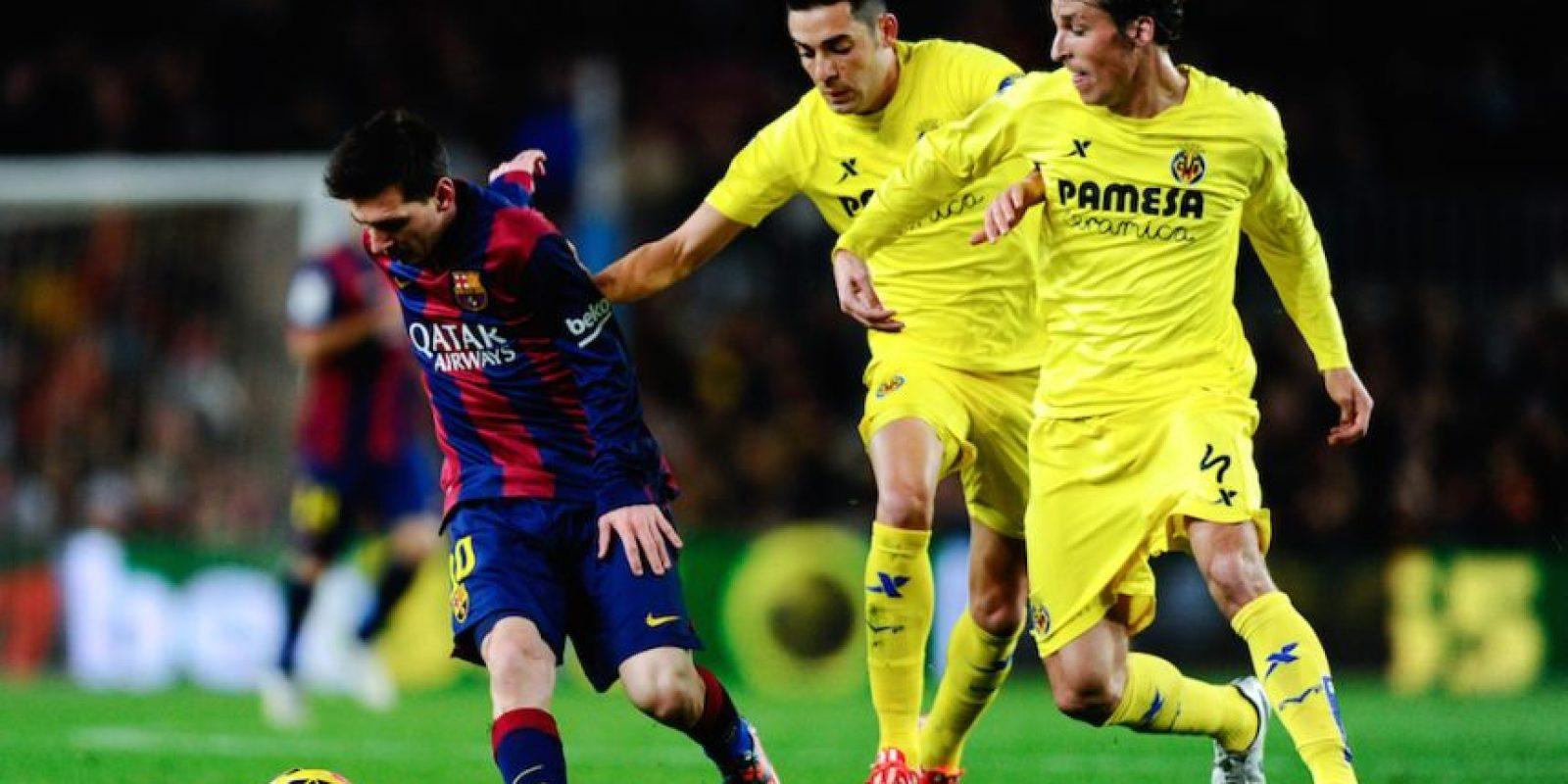 Lionel tuvo una férrea marca todo el tiempo. Foto:Getty Images