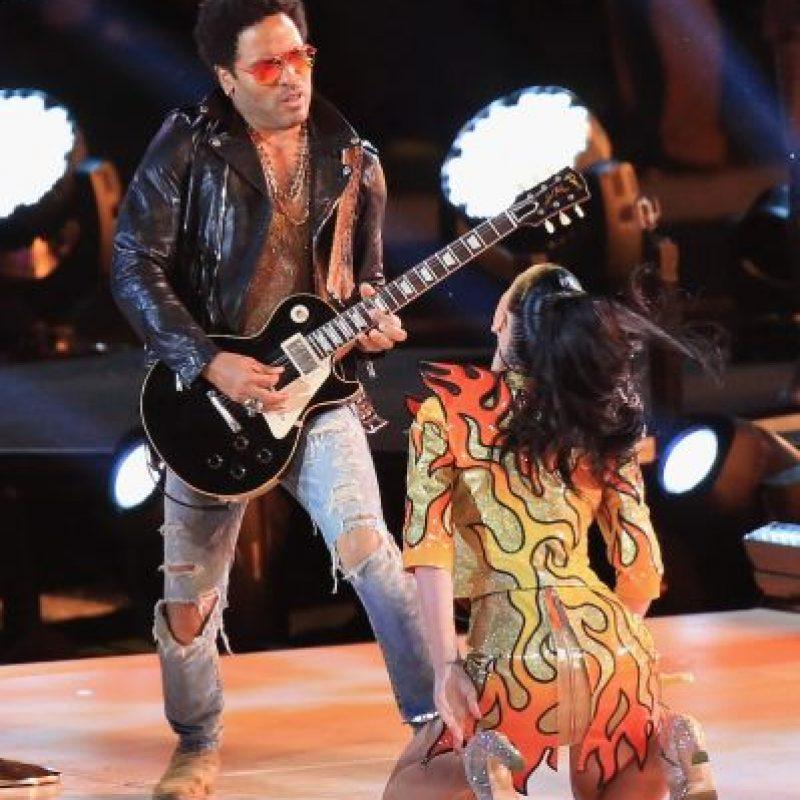 """Prathios dice que aunque actuaron junto a Katy Perry, Lenny Kravitz y Missy Elliot, """"desafortunadamente, no llegamos a conocer formalmente a ninguno de ellos"""". Foto:Getty Images"""