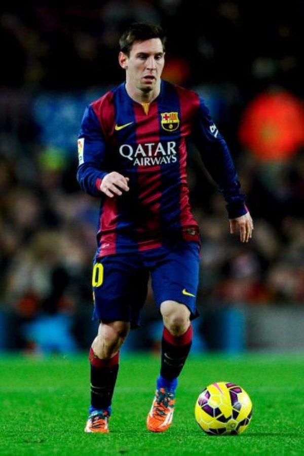 Leo disputó todo el encuentro. Foto:Getty Images