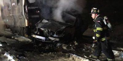 6 muertos en choque de tren en Nueva York