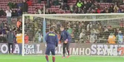 Messi hizo un golazo inalcanzable para Ter Stegen. Foto:Vine