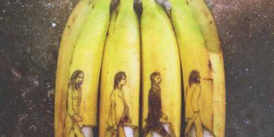 Fotos: Obras de arte en bananos