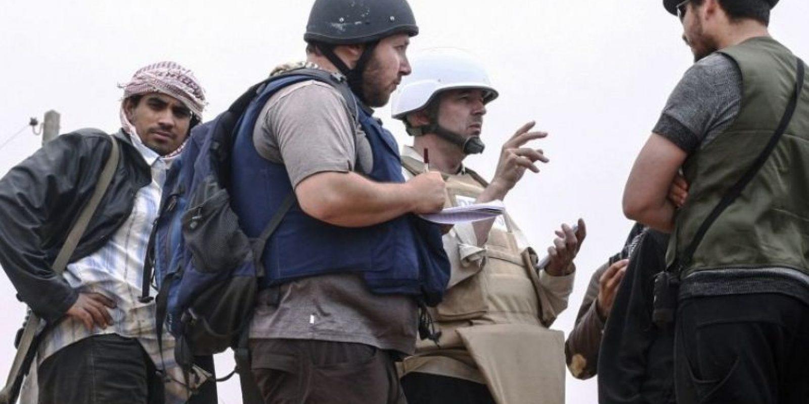 Steven Sotloff, periodista estadounidense-israelí. Foto:AFP