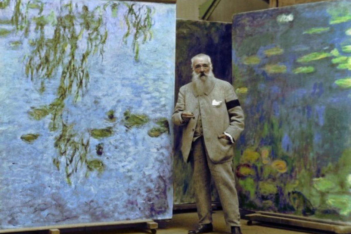 Claude Monet, 1923.