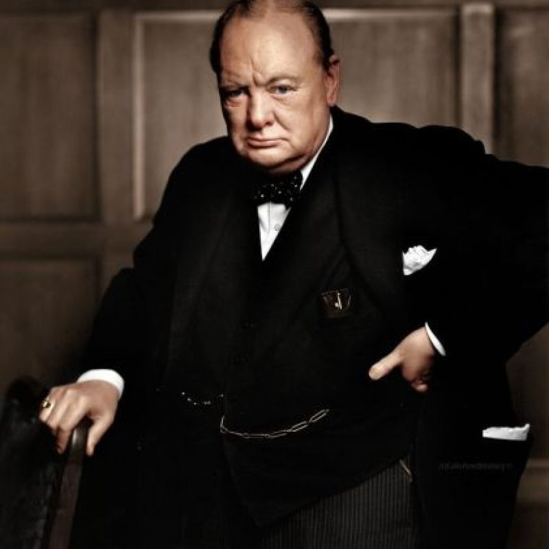 Winston Churchill, 1941.