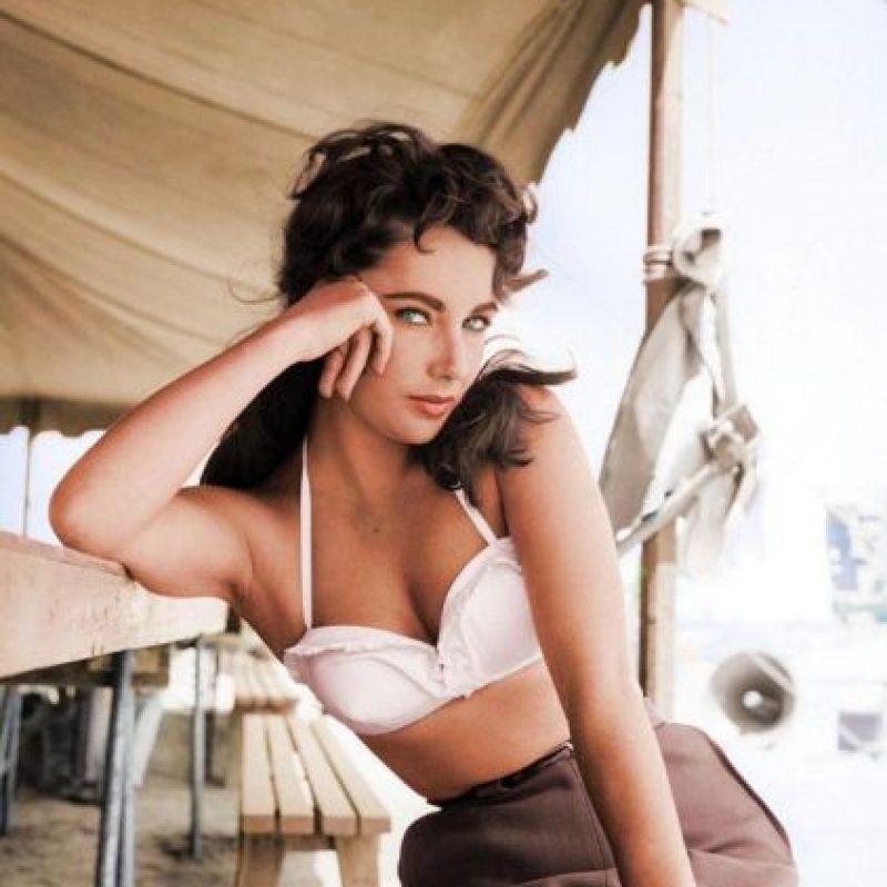 Elisabeth Taylor, 1956.