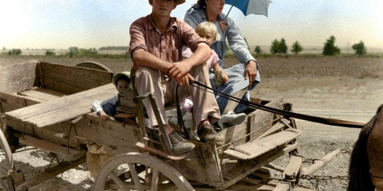 Granjero de Oklahoma, 1939.