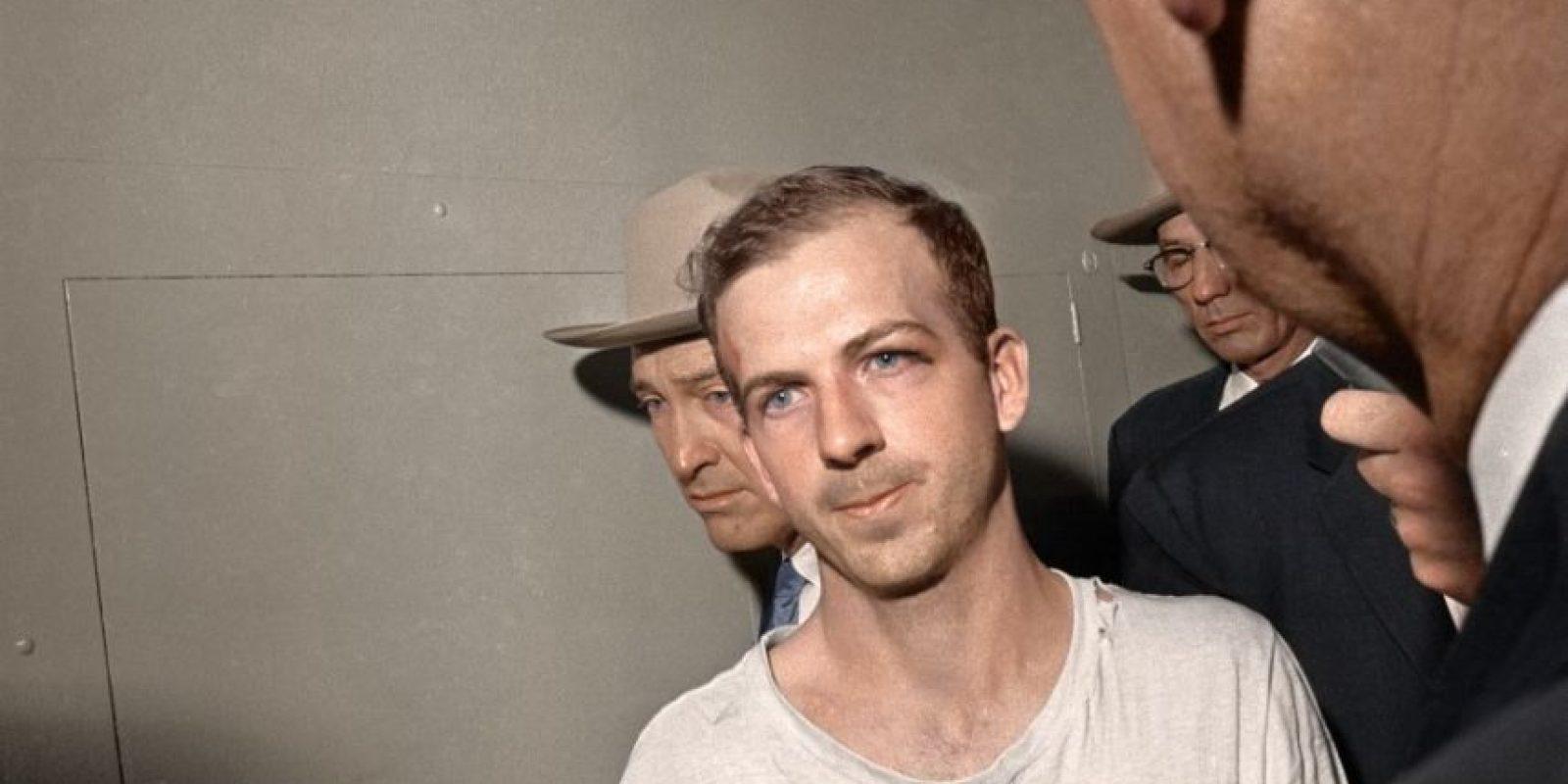 Lee Harvey Oswald, el asesino de Kennedy, en 1963.
