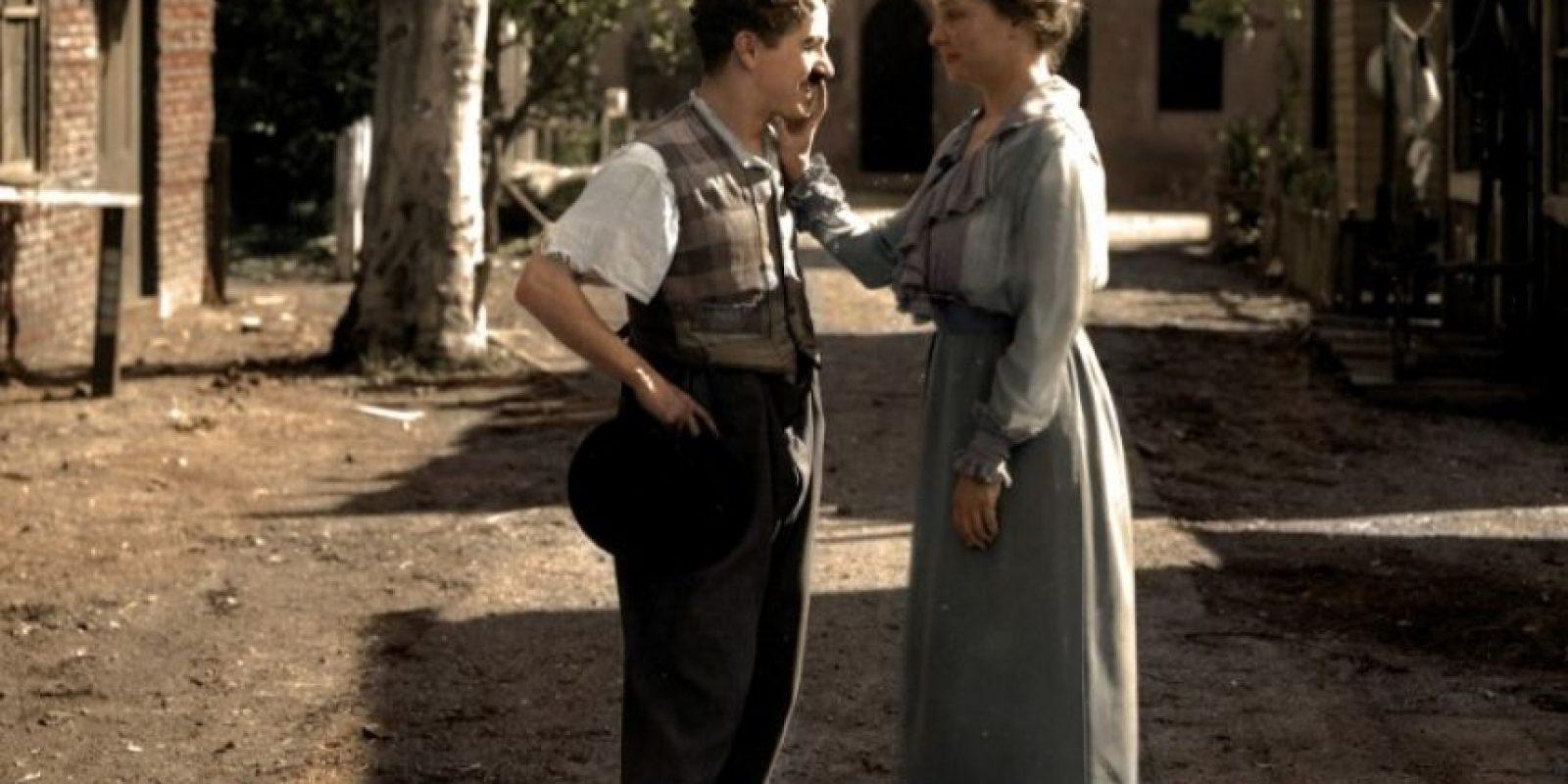 Charlie Chaplin en 1918.