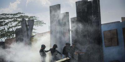 FOTOS. Autoridades realizan simulacro de terremoto