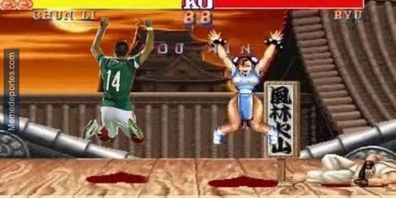 4. Un gol con la selección mexicana también provocó algunos memes Foto:memedeportes