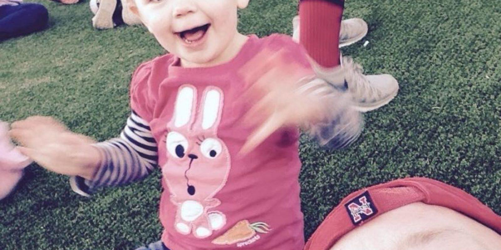Greg Wickherst tiene una hija de 3 años, Izzy. Foto:Facebook/Greg Wickherst