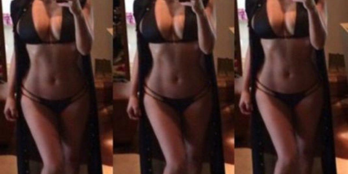 FOTO: Filtran nuevo desnudo frontal de Kim Kardashian