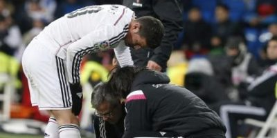 James Rodríguez será baja entre dos y tres meses para el Real Madrid