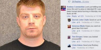 ¡Oh Canadá! Hombre se entrega a la Policía por Facebook
