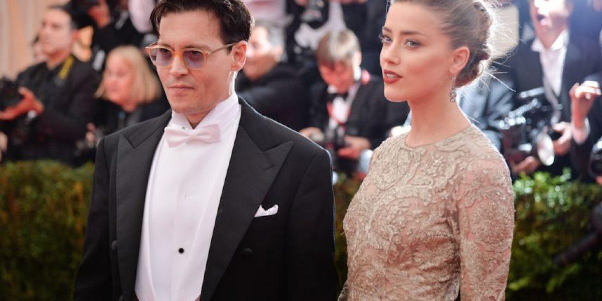 FOTOS. Johnny Depp no se pudo esperar y ¡se casó!