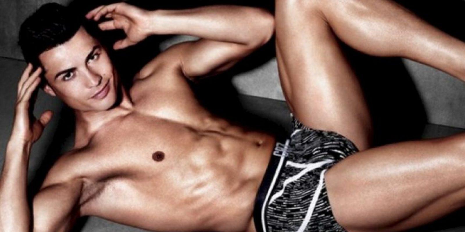 1. Entrena la mente, así como el cuerpo. Te ayudará a alcanzar las metas. Foto:CR7 Underwear