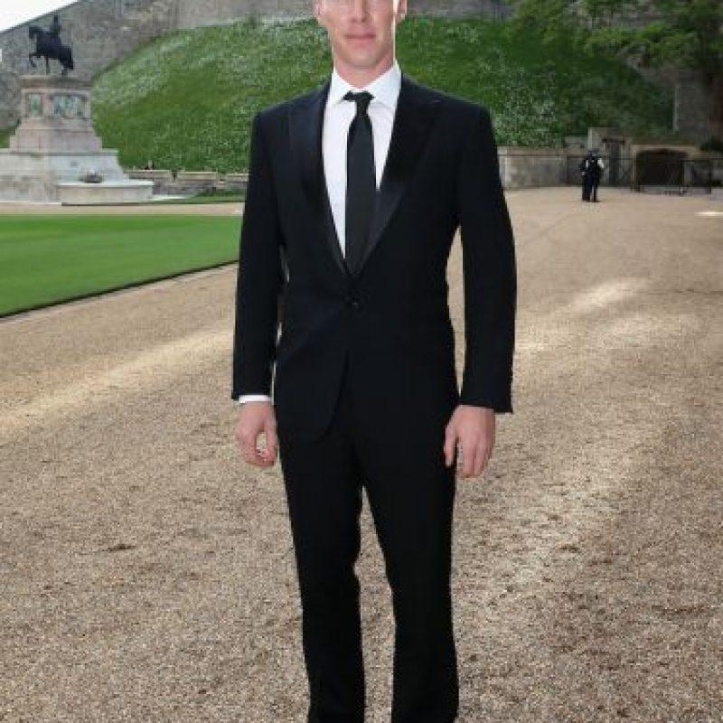 """""""Juan"""" en mandarín significa rizado, esto por el estilo del cabello de Cumberbatch en la serie """"Sherlock Holmes"""". Foto:Getty Images"""