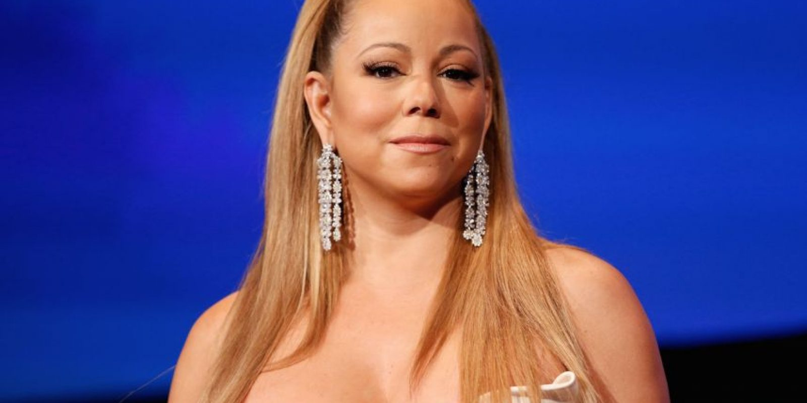"""En china la expresión """"la vagina de la vaca"""" o """"Niubi"""" se refiere a algo muy impresionante, por ello mencionar que Mariah es una """"hermana vaca"""" es uno de los mejores cumplidos que se puedan recibir. Foto:Getty Images"""