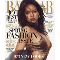 Rihanna en la portada Foto:Instagram/badgalriri