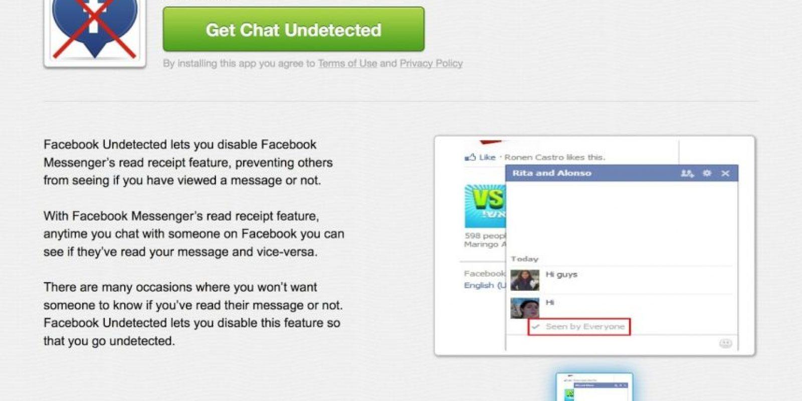 Crossrider chat también sirve para Chrome, Firefox y Explorer. Foto:Facebook