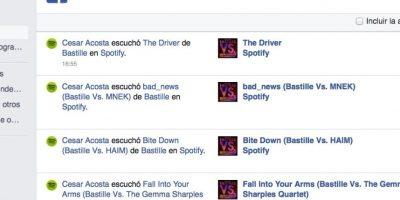 """Para ver o borrar todo lo que han hecho en Facebook, ingresen a su perfil y den clic en la opción """"Ver registro de actividad"""". Observarán los likes, comentarios y demás acciones que han realizado. Foto:Facebook"""