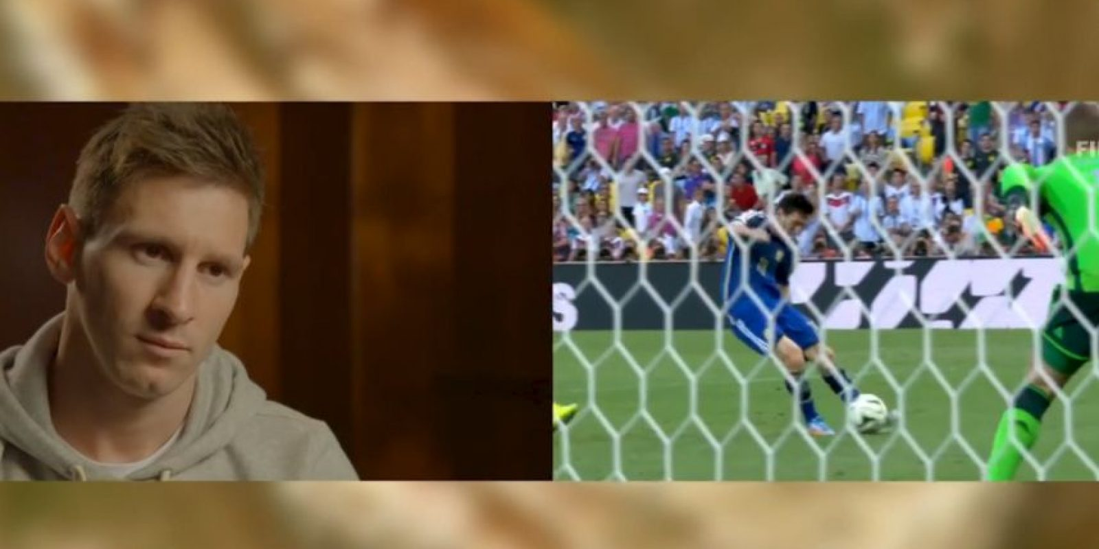 El argentino recordó la final del Mundial Foto:Youtube: FIFA