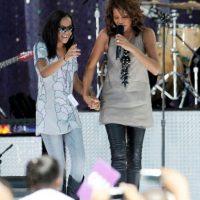 En 2012, en la víspera de los premios Grammy, Whitney Houston falleció, dejando a Kristina. Foto:Getty Images