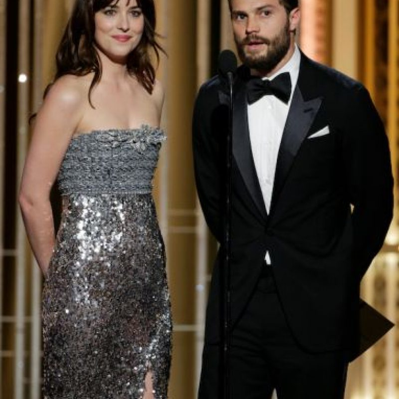 """Protagonistas de """"50 Sombras de Grey"""" Foto:Getty Images"""