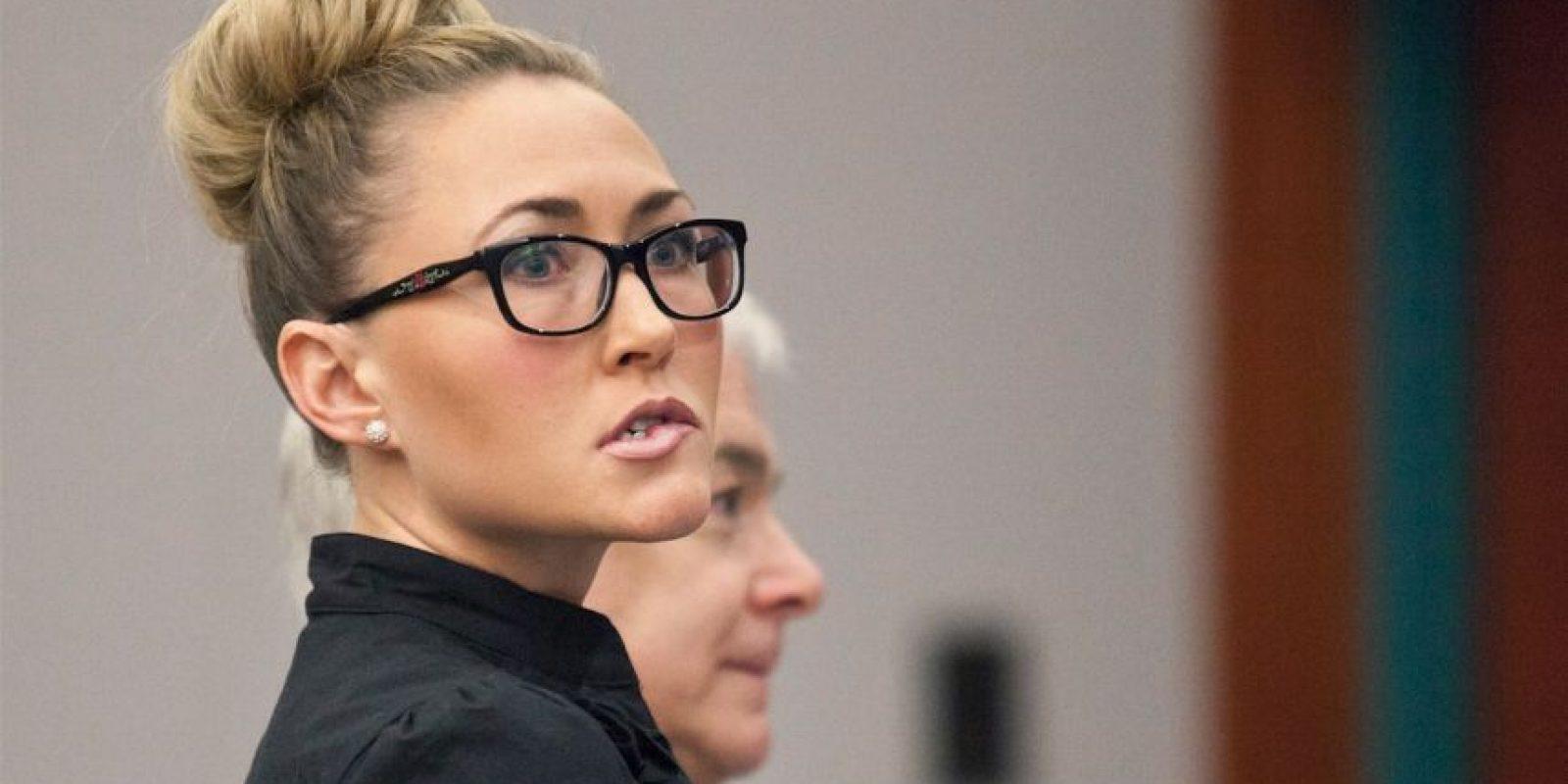 Brianne Altice, profesora acusada de tener sexo con 3 estudiantes Foto:AP