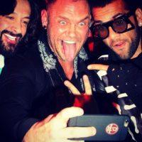 Rafael Amargo, Nacho Vidal y Dani Alves. Foto:instagram.com/nachovidalxxx