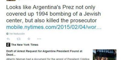 Cristina Fernández rebate a famosos que la cuestionan por el Caso Nisman